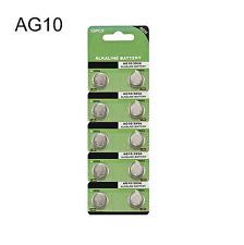 Wholesale 10Pcs AG10 G10A SR1130 LR1130 LR54 Alkaline Button Cell Coin Battery