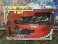 TFC Toys TFC EX-004 Megashoton vs Optiaim Targetroids Transformers Targetmaster