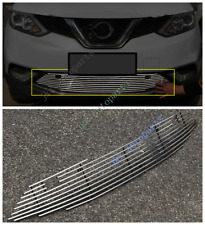 For Nissan Qashqai 2015-17 Metal Front Bumper Lower Mesh Grille Vent Hole K 1pc