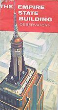 Vintage Souvenir Brochure -- The Empire State Building