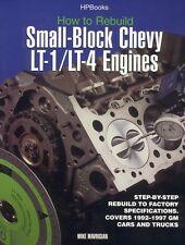 Rebuild LT1 LT4 Small-Block Chevy Engines GM CORVETTE WORKSHOP REPAIR MANUAL