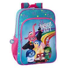 Disney INSIDE OUT - Large Backpack with Pocket Size: 30x40x16 cm