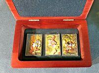 WDW Animal Kingdom PIN-O-RAMA Mickey Goofy Donald BOXED SET Disney Pins LE 100