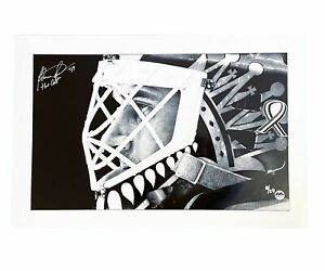 Felix Potvin Autographed & Inscribed 16x20 Photo - Mask