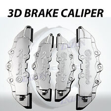 4pcs Silver 3D Styling Disc Brake Caliper Cover Kit For Lexus 16-18 inch wheels