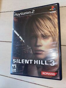 Silent Hill 3 With case/no manual or soundtrack (PS2, 2003) very good