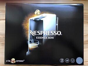 Nespresso Kapselkaffeemaschine Essenza Mini C30 in Grau Neu sonstige
