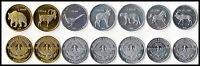 Azerbaijan Nagorno Karabakh 7 coins set 2x 50 Luma 2x 5 Dram 3x 1 Dram 2013 UNC