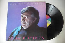 "PIERANGELO BERTOLI ""SEDIA ELETTRICA- disco 33 giri CGD Italy 1989"""