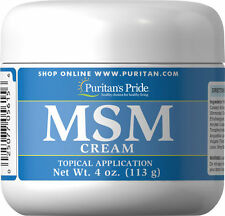 MSM Cream Joint Pain Scar Tissue Stretch Marks Wrinkles Anti-Aging Collagen Skin