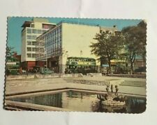 IRISH  POSTCARD, BUS STATION,DUBLIN,,IRELAND