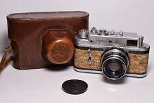 ZORKI 4 Cork body Soviet / Russian 35mm Rangefinder Camera, Industar-61 (2.8/53)