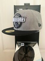 """Chicago Blackhawks CHI Official NHL New Era 59FIFTY Fitted Cap - 5950 Hat 7 1/4"""""""