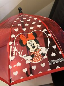 Kids Umbrella Minnie Mouse Walt Disney Umbrella Kids Brolly Children's Umbrella