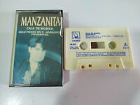Manzanita Caja de Musica Flamenco 1994 Horus - Cinta Cassette