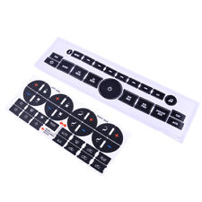 Car Interior Radio+ A/C Climate Control Button Repair Decals Stickers for GM GMC