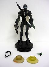 """GI JOE SNAKE EYES Sigma 6 Action Figure Series 1 Commando 8"""" NEAR COMPLETE 2005"""