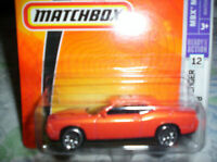 DODGE - CHALLENGER SRT 8 - 2008 - MATCHBOX - 1/55