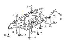 Audi A5 13 - 17 OEM Engine Splash Shield Guard 8F0863821Q GENUINE