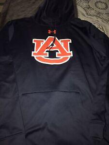 Under Armour Auburn Tigers Sideline Pullover Sweatshirt Hoodie 3XL