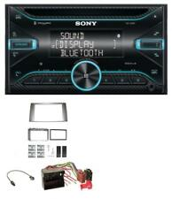 Sony CD mp3 aux 2din Bluetooth USB AUTORADIO pour Ford Fiesta Focus 2004-2008 SIL