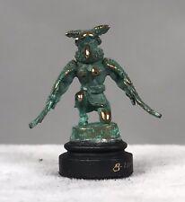 Daniel Kronberg Bronze Dollhouse Miniature - Native American Kachina Doll 6