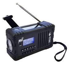 Emergency Radio Solar Hand Crank Noaa Weather 2200mAh Power Bank Charger iPhone!