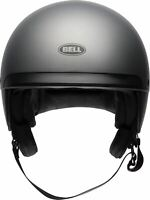 Bell Scout Air Matte Titanium Motorycle Scooter Helmet Street Bike Open Face