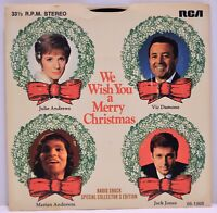 """We Wish You a Merry Christmas"" Radio Shack 1968 7"" EP 33 RPM Vinyl PRS-277"
