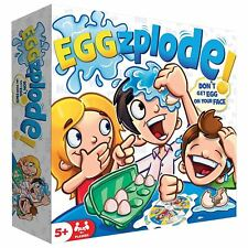 Eggzplode Kids Family Fun Game Toy Up To 4 Players 8 Eggs & Spinner 5+ Years