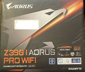 NEW - Z390 I Aorus Pro WiFi  LGA1151 DDR4 Gaming Motherboard