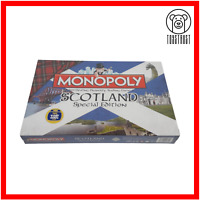 Monopoly Scotland Special Edition Board Game Property Trading Family Fun Hasbro