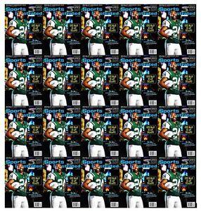 Lot of 20 New Sports Illustrated Magazine Darrelle Revis NY New York Jets 2015