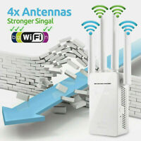 AC1200 1200Mbps Wifi Repeater Dual Band Wireless 300m Extender Booster Gigabit