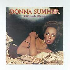 DONNA SUMMER I Remember Yesterday NBLP7056 AZ LP Vinyl VG+ Cover VG+