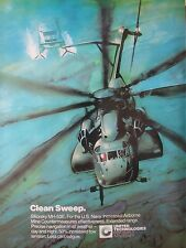 10/1982 PUB SIKORSKY MH-53E US NAVY AIRBORNE MINE COUNTERMEASURES BELL SES AD