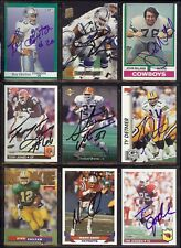 TONY JONES Cleveland Browns Football - 1992 Fleer SIGNED / AUTOGRAPH Card