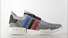 DS Adidas NMD R1 PK Primeknit Tri-Color Grey Size 14