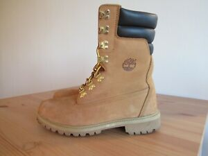 Timberland 6842A 9 Inch Wheat/ 40 Below/ Super Boot Preowned -Sz 9.5 Very Rare