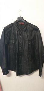 Gayles Lederhemd (Lustfashion ) Gr. XL (Gay Leder gebraucht)