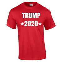Trump 2020 T-Shirt Donald President Elections Rally Republican Cotton Shirt