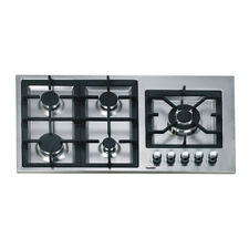 90cm Gas Cooktop 5 Burners Built In Romandy Series for Kitchen