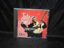 Tutu Jones Staying Power Blues CD Dallas Texas Music 1998