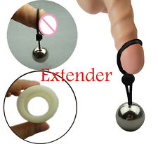 Metal Ball Penis Erection Enlarger Extender Weight Stretcher Heavy Male Hanger