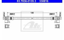ATE Tubo flexible de frenos SEAT IBIZA VOLKSWAGEN GOLF CORRADO 83.7836-0135.3