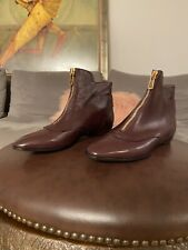New Tod's Women's Burgundy Deep Wine Ankle Height Shoes  36