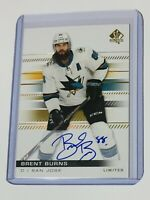 2019-20 SPA LIMITED AUTO BRENT BURNS 63 SHARKS