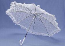 Lace Umbrella Cotton Embroidery Lace Parasol Umbrella Wedding Bridal Decorations