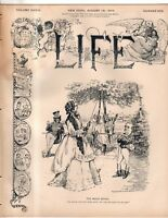 1899 Life August 10 - Italians lynched in Tallulah LA;Take Church to Sunday Golf