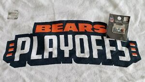 Philadelphia Eagles VS Chicago Bears 1/6/19 WILD CARD Game Day Pin & Rally Towel